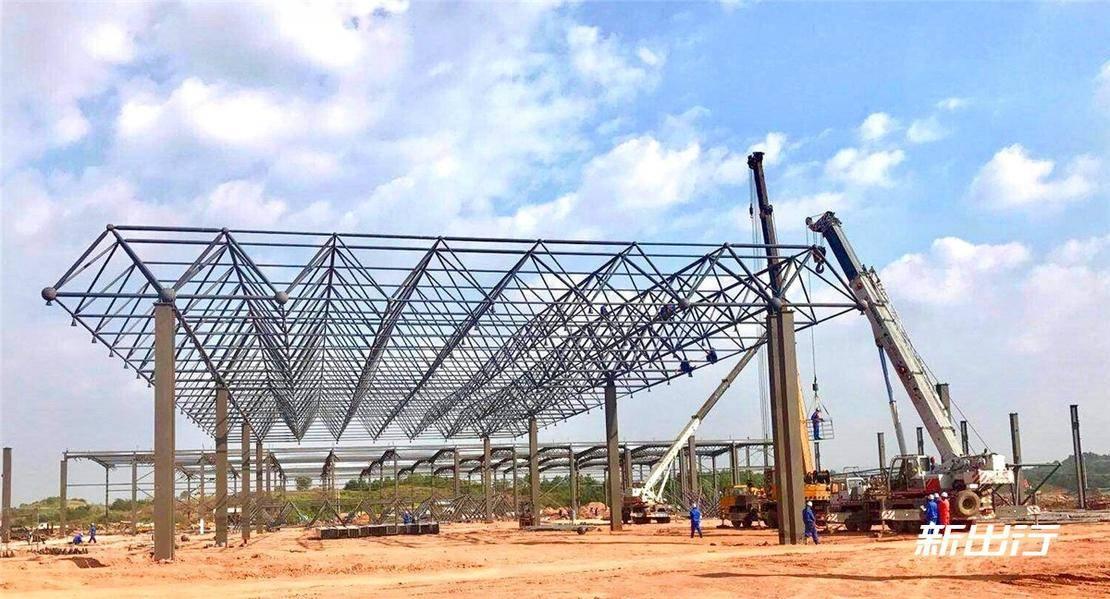 爱驰亿维位于上饶的工厂正在积极建设中-2.jpg
