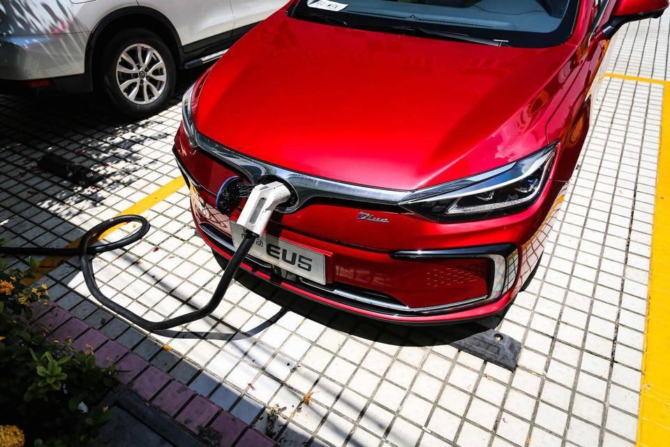 北汽新能源 EU5 2019款 R600 智潮版